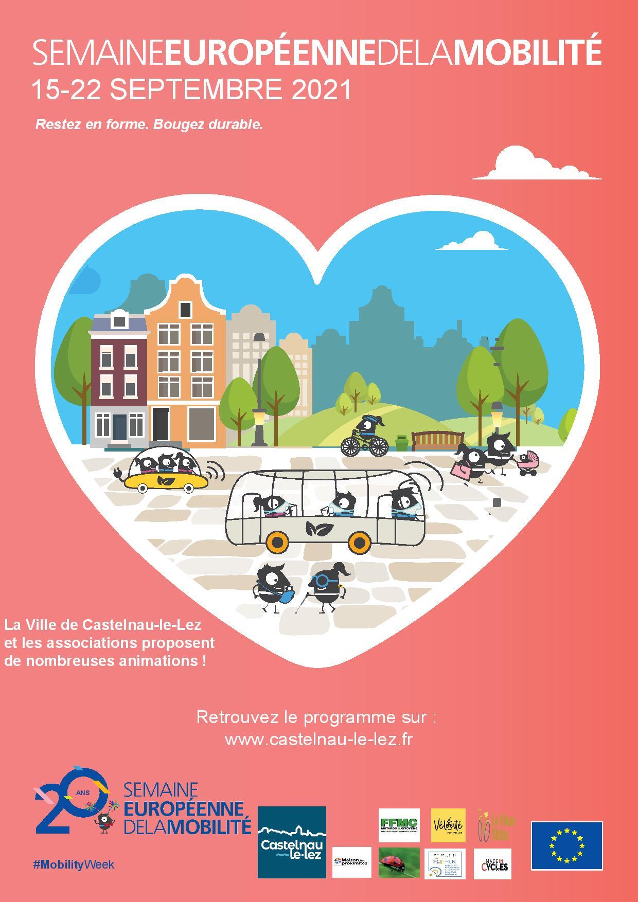 Semaine européenne de la mobilité du 15 au 22 septembre à Castelnau