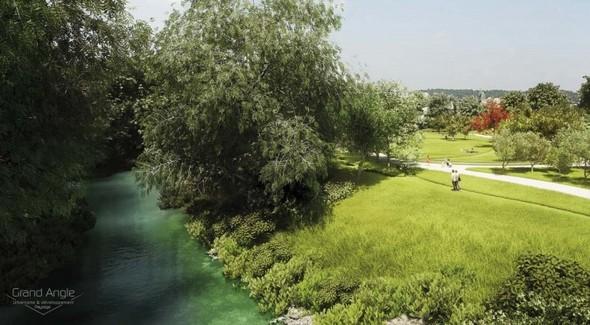 Berges du Lez : bientôt un nouveau parc à l'entrée de Castelnau