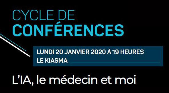 Conférence : L'IA, le médecin et moi