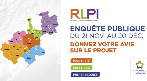 Enquête publique : RLPI