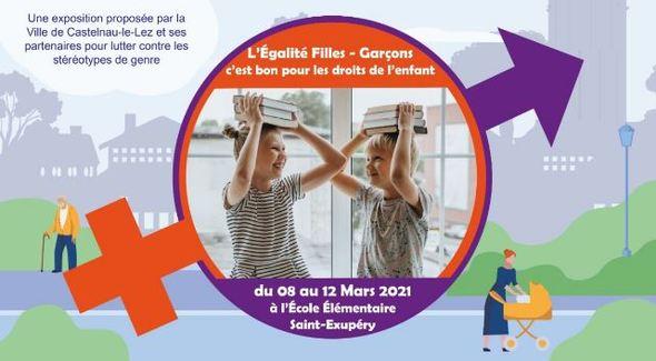 Expo : L'Égalité Filles - Garçons, c'est bon pour les droits de l'enfant