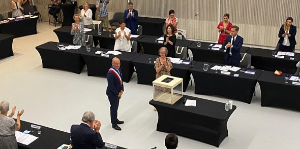 Conseil du 4 juillet : Frédéric Lafforgue élu Maire