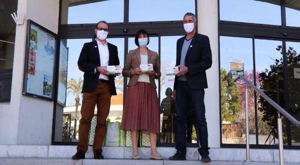 Don de masques pour les enfants