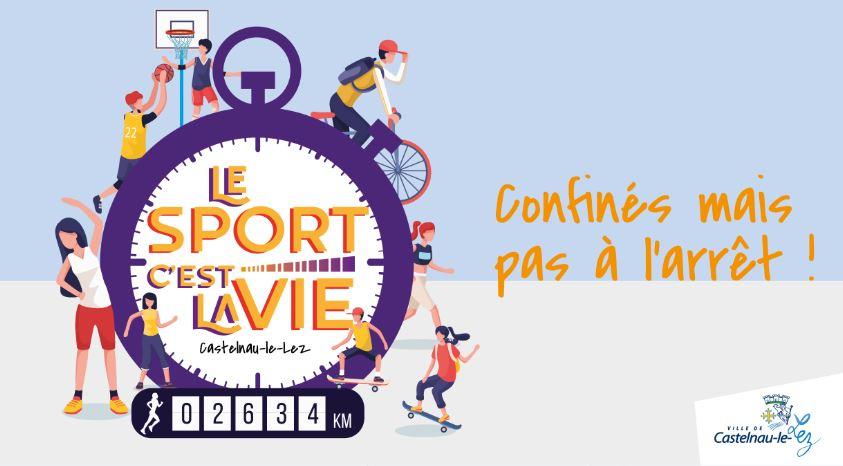 Challenge sportif : Le sport, c'est la vie !