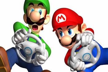 Jeux vidéos - Mario Kart sur Wii