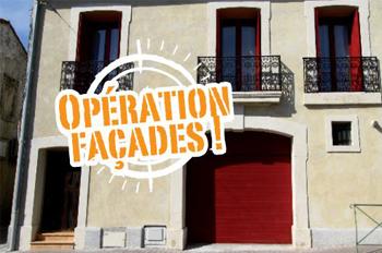 Renaissance du vieux Castelnau - opération façades