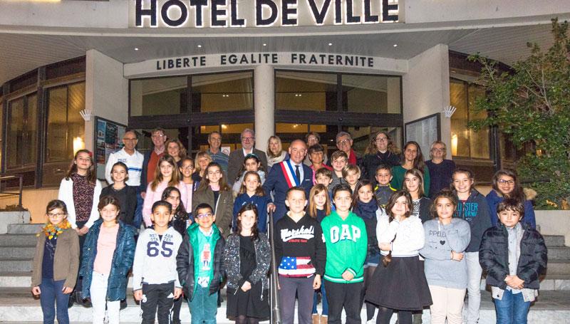 Le Conseil municipal des Jeunes de Castelnau 2018