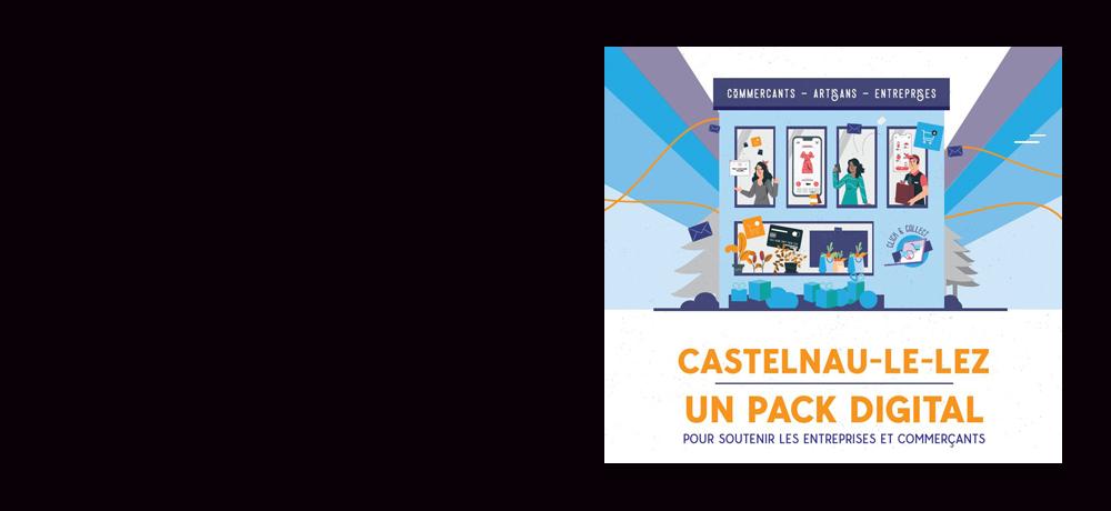 [COVID-19] Commerçants : aide à la transformation numérique de la part de la Ville de Castelnau-le-Lez