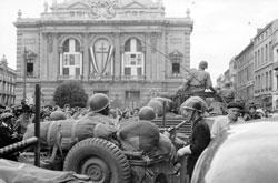 Libération de Montpellier en 1944 crédits ECPAD