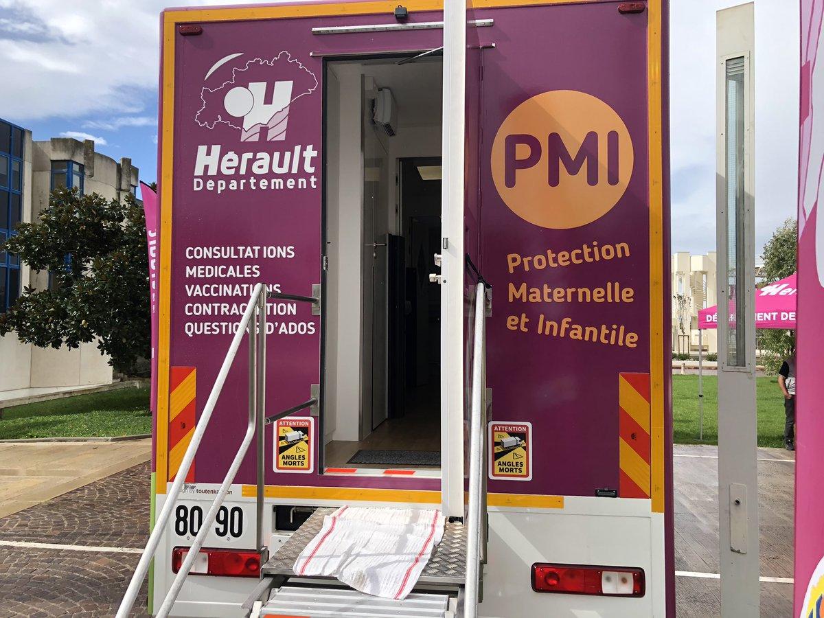 Le bus PMI à Castelnau !