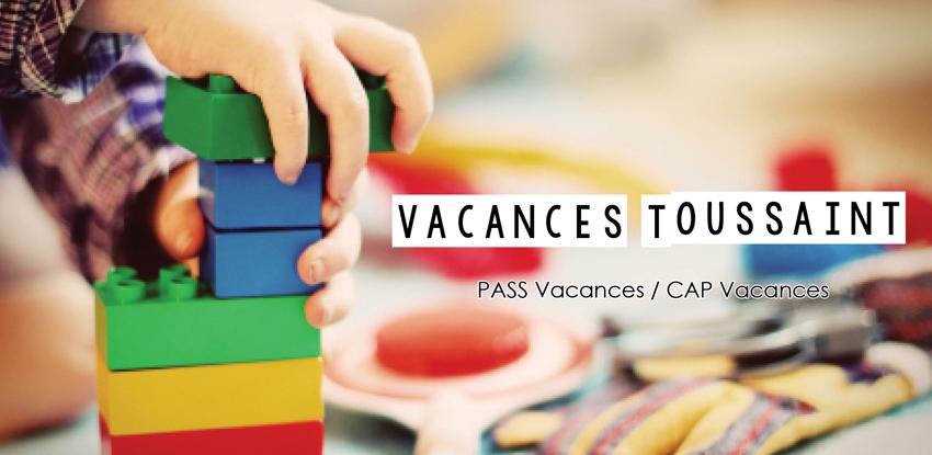 Vacances Jeunesse : Toussaint 2019