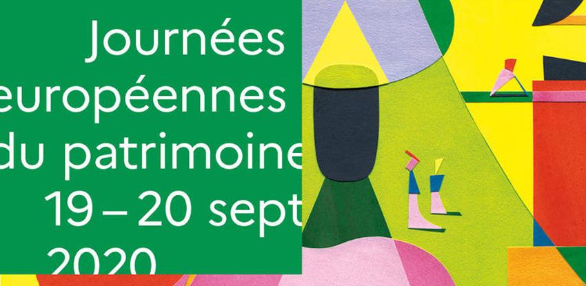 Journées Européennes du Patrimoine : 19 - 20 septembre