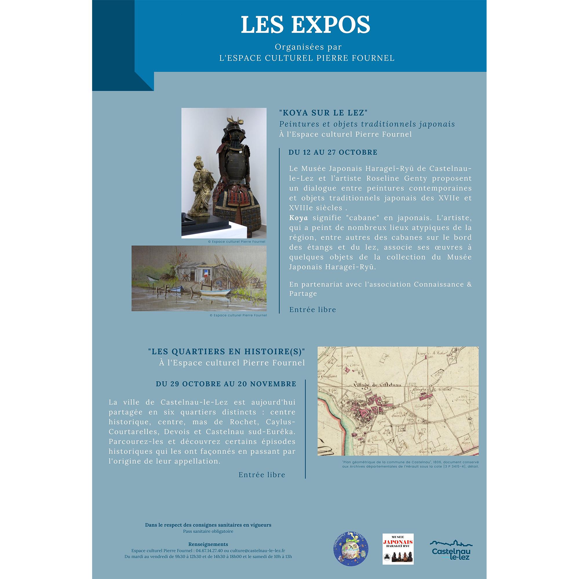 Les expositions d'automne à l'espace culturel Pierre Fournel