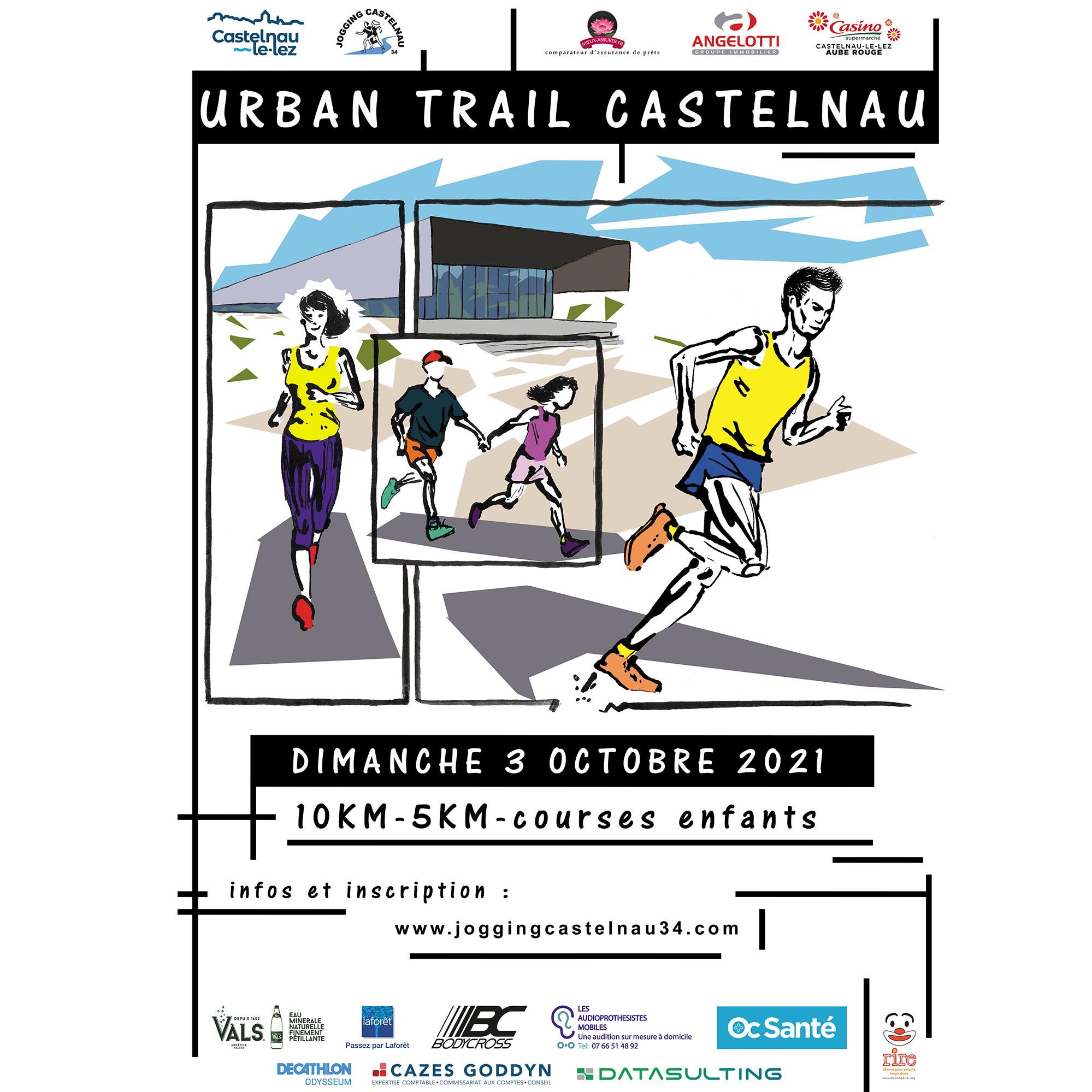 A vos baskets ! 1er Urban Trail le 3 octobre !