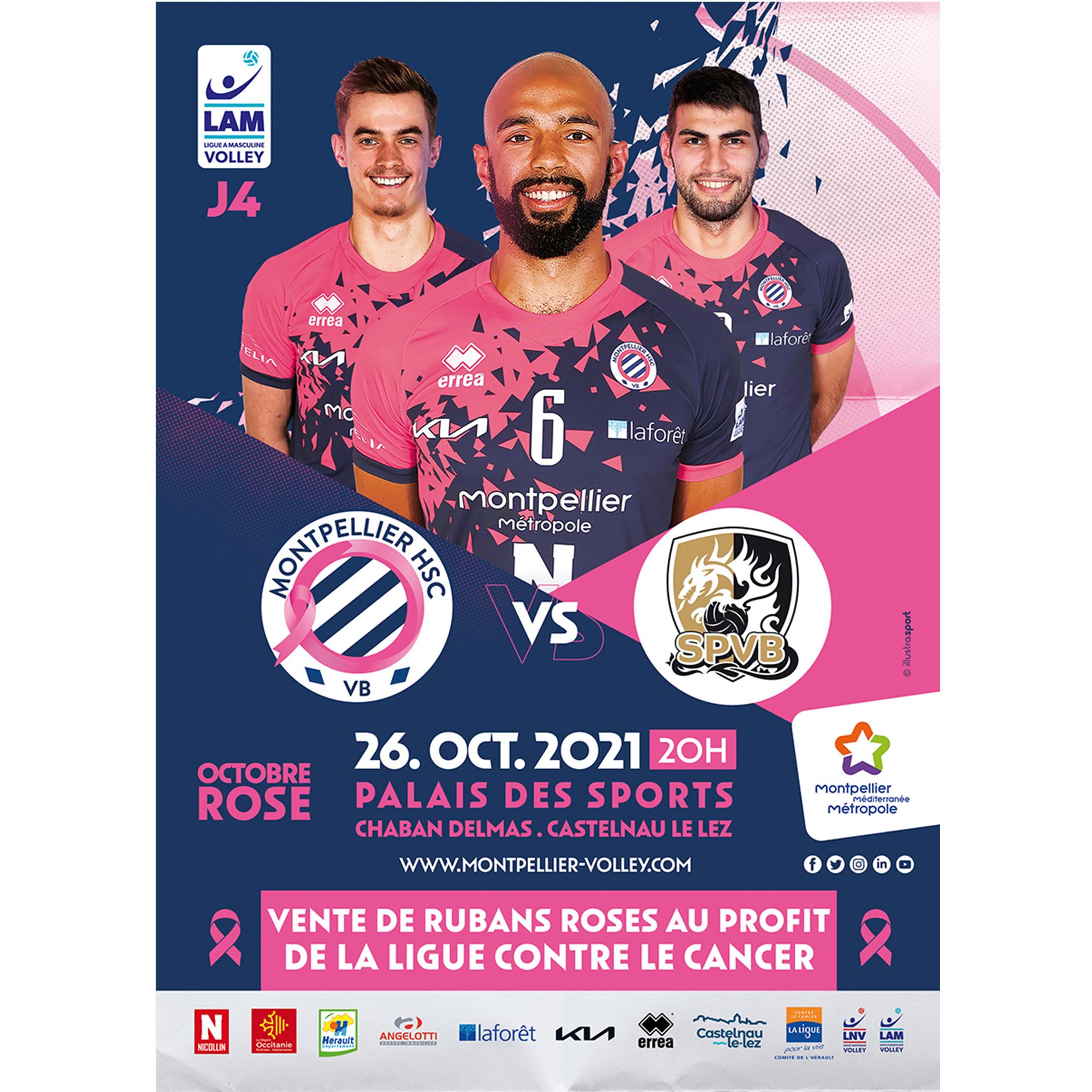 Soutenez l'équipe de volley et octobre rose !